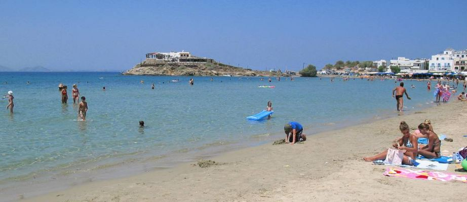 Naxos Sea and Sand