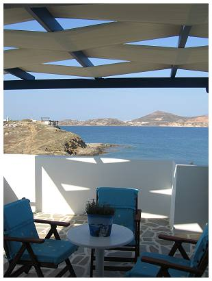 Galini Hotel in Naxos Saint George Beach, Hora